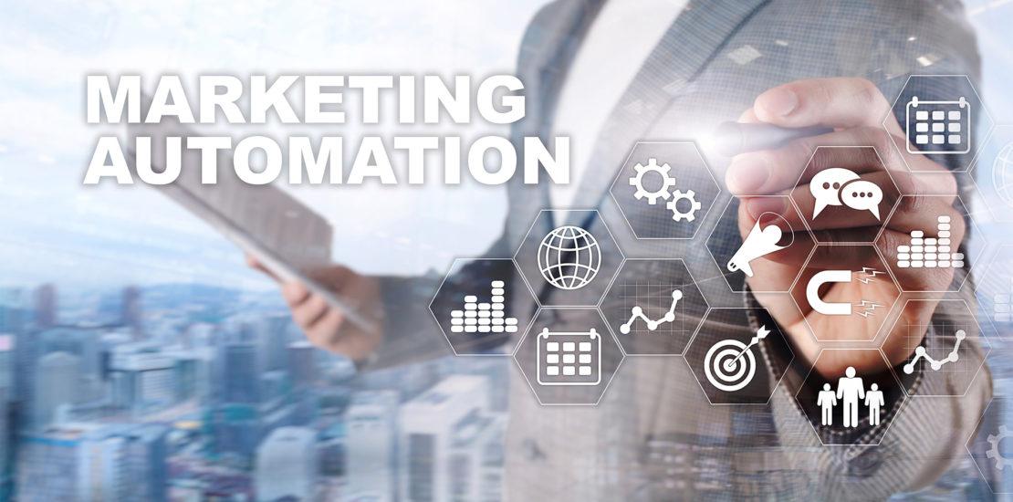 desenho automação de marketing
